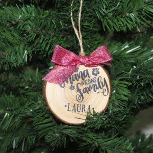 decorazione albero di natale ohana