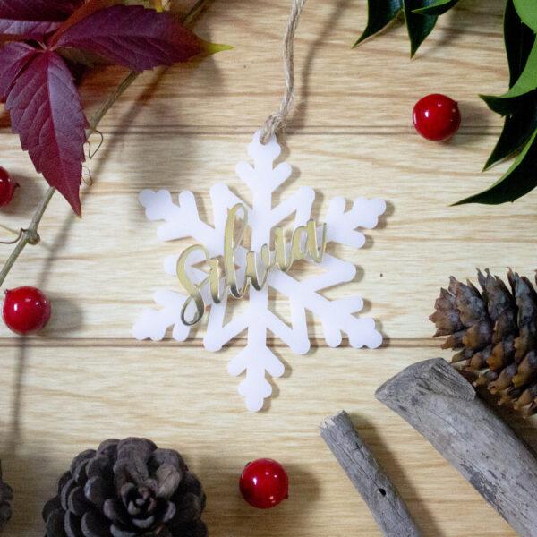 decorazione fiocco di neve