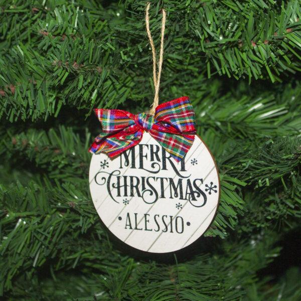 Descrizione albero di Natale, Merry Christmas