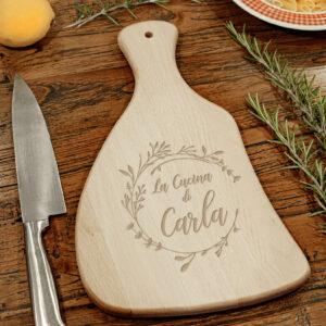 tagliere in legno personalizzabile