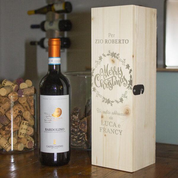 cassetta porta vino ida regalo personaizzabile