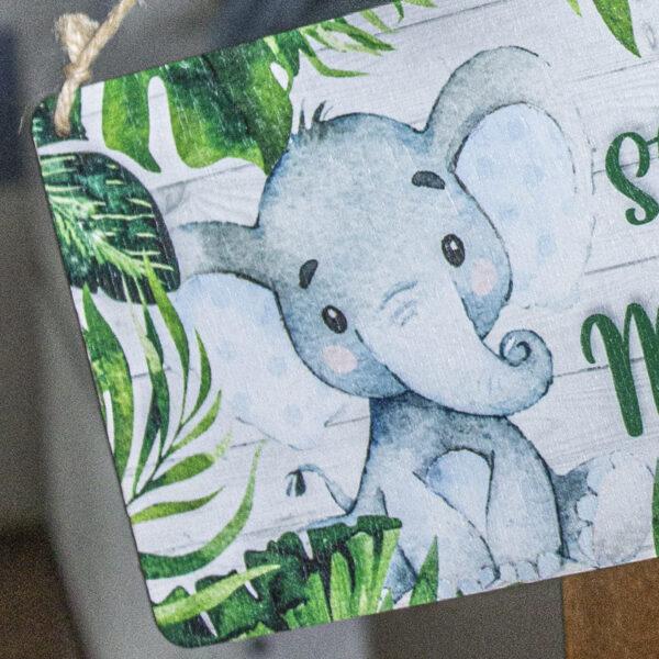 targhetta elefantino