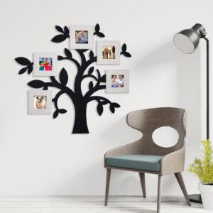 decorazione albero nero