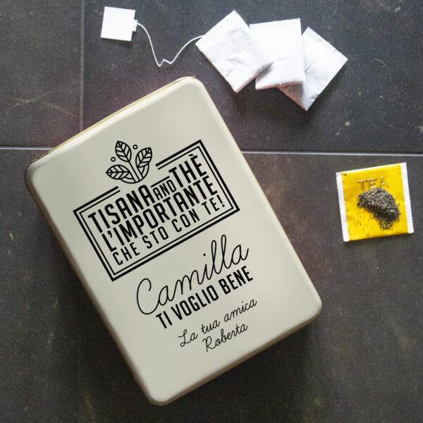 scatola latta vintage
