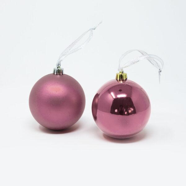 decorazione albero di natale xmas rosa