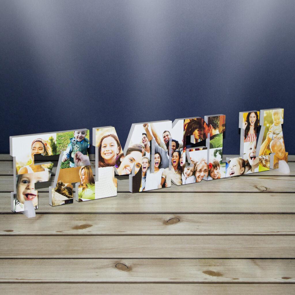 """Deco """"Famiglia"""" Arredo Design con Foto"""