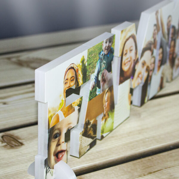 arredo design con foto, decorazione famiglia