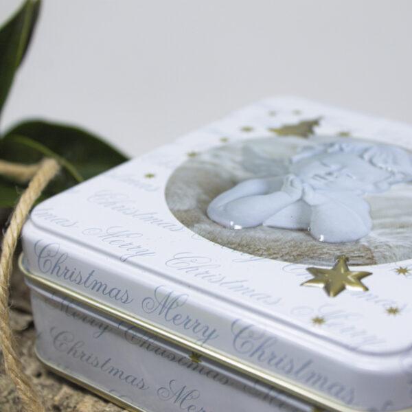 gift box in latta soap angel