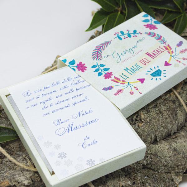 """gift box a cassetto, """"magia del natale"""""""