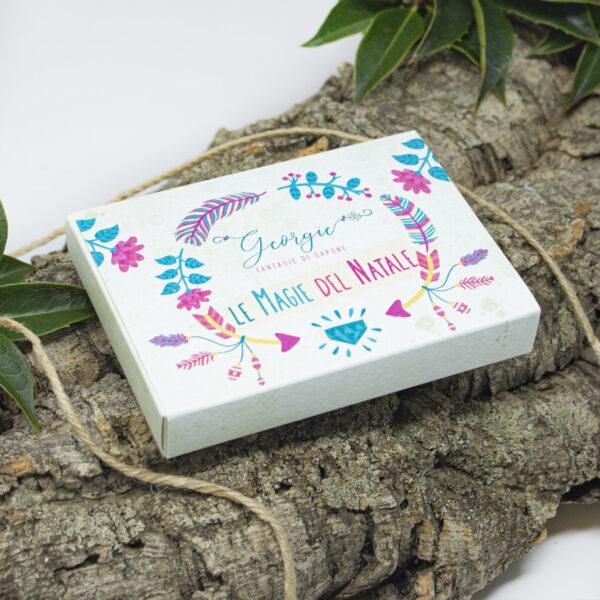gift box a cassetto magie del Natale