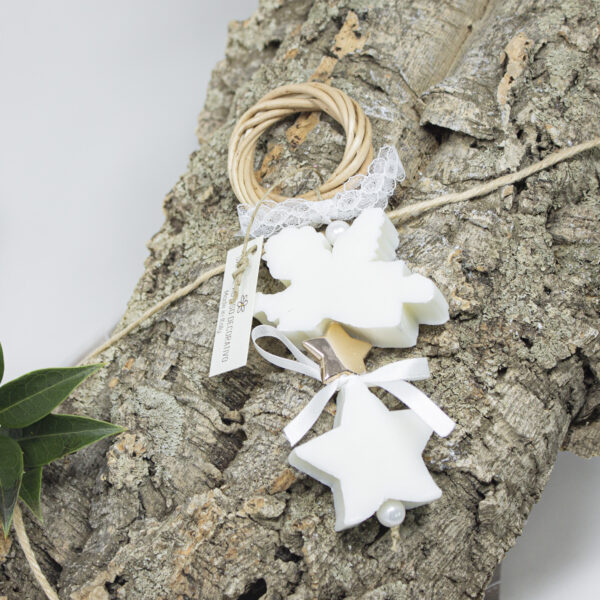 "ghirlanda decorativa soap ""star & angel"""