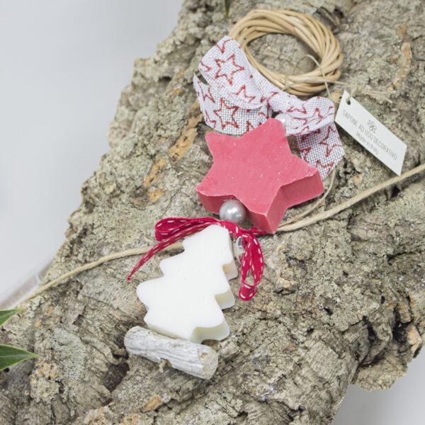 ghirlanda decorativa soap xmas star