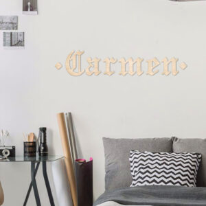 scritta da parete