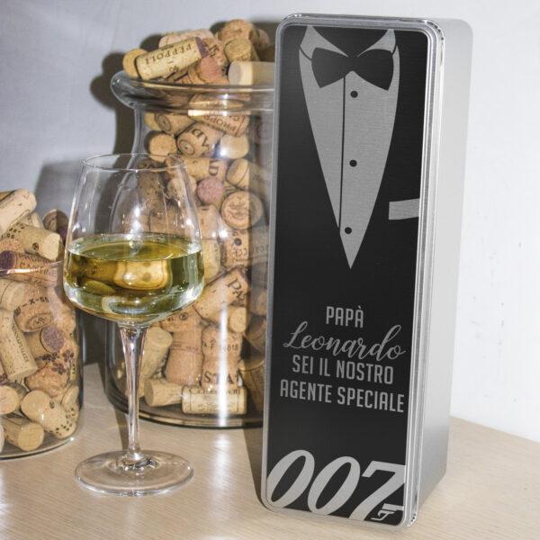 scatola in latta porta vino 007