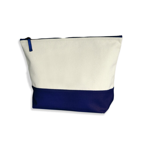 Beauty case personalizzato con il tuo nome, blu