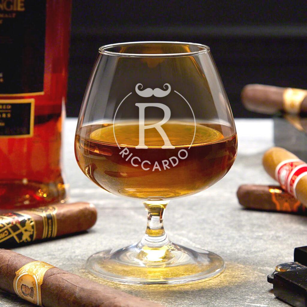 bicchiere cognac personalizzato