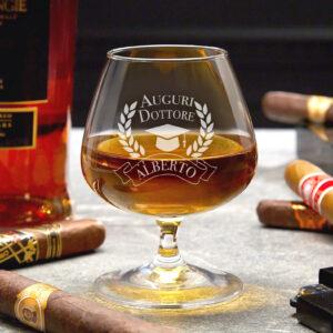 bicchiere personalizzato, regalo laurea