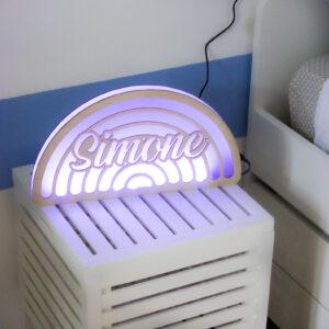 lampada led prsonalizzata