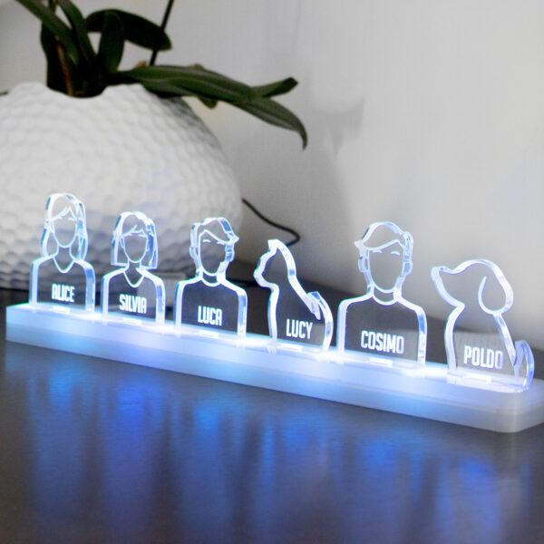 lampada led personalizzata