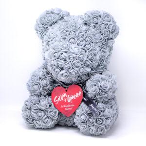 orsetto con rose, regalo san valentino