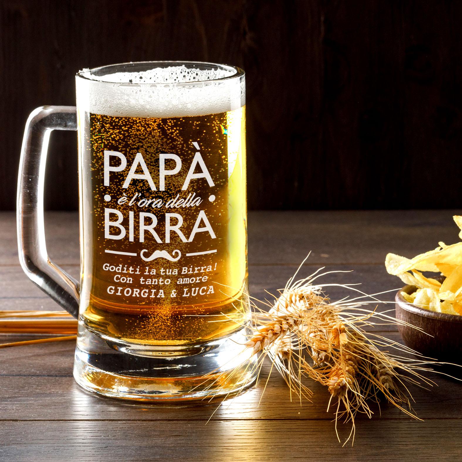 Boccale Di Birra Personalizzato Con Nome Del Papa B Paper