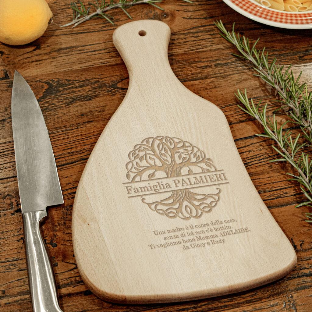 Tagliere legno personalizzato