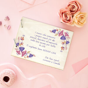 regalo per la nonna, festa dei nonni, portafoto personalizzato