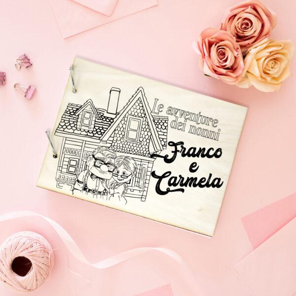 regalo per la festa dei nonni, portafoto personalizzato