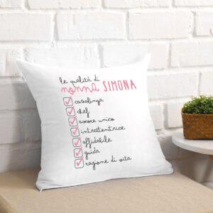 regalo per la nonna, cuscino personalizzato per la nonna