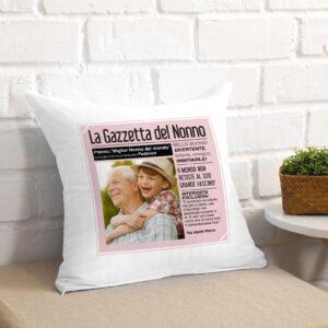 regalo per il nonno, cuscino personalizzato