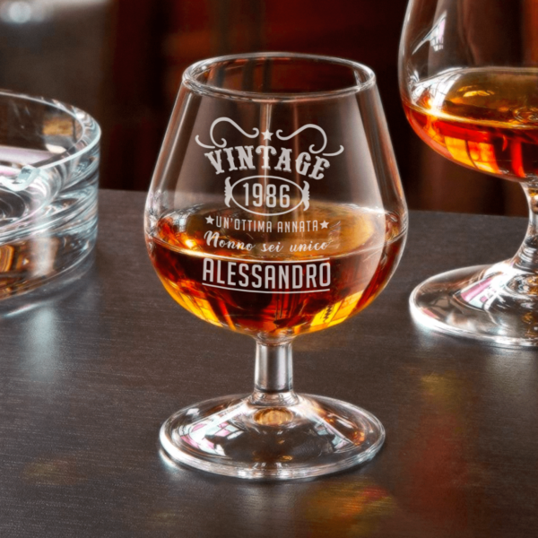 regalo per il nonno, bicchiere personalizzato