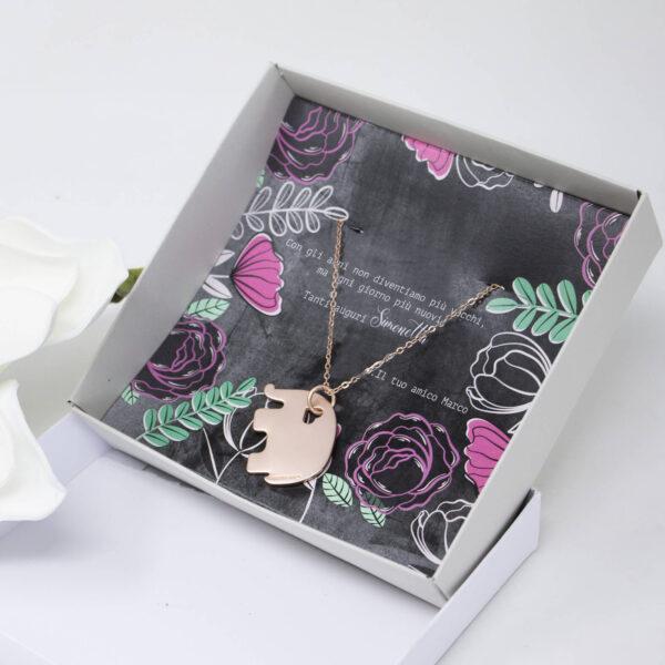 ciondolo personalizzato, bijoux regalo
