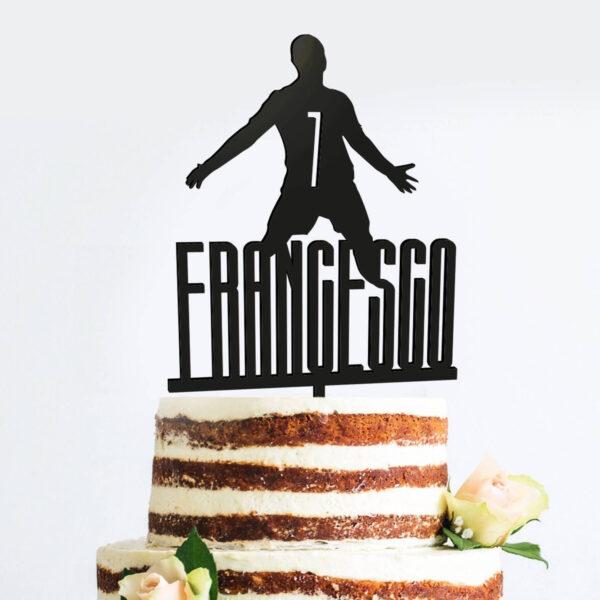 cake topper personalizzato, nomi bambini compleanno