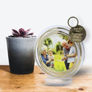 portafoto plexiglass