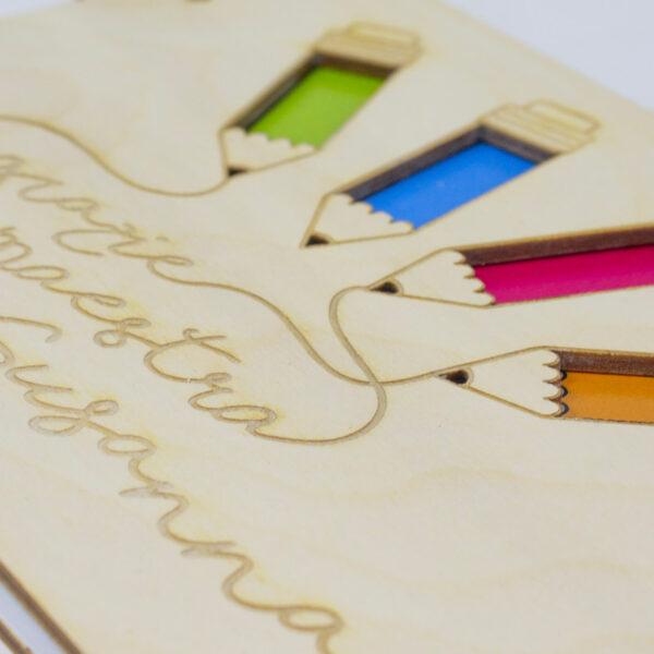 regalo personalizzato maestra