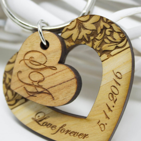 BPaper | Portachiavi Cuore Love Forever