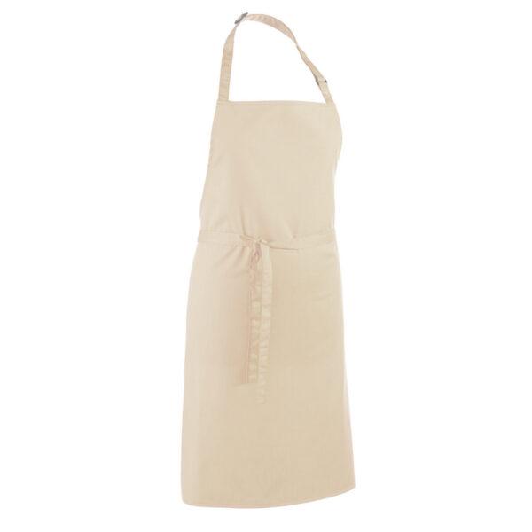 """Grembiule Personalizzato """"PAPA' cuoco"""" con Nome personalizzato, beige"""