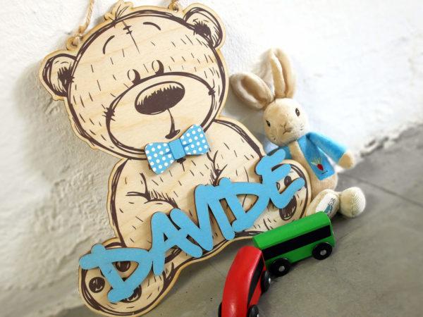Fuori Porta Bear Personalizzabile – Idea Regalo Bambino