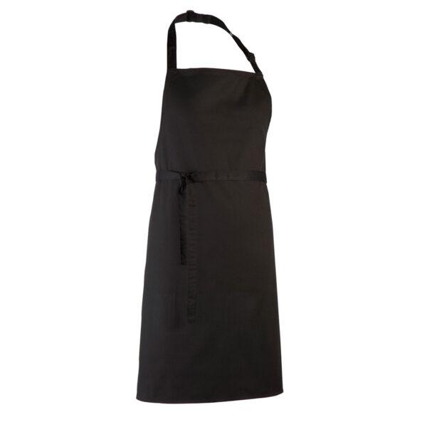 """Grembiule Personalizzato """"mamma cuoca"""" nero"""